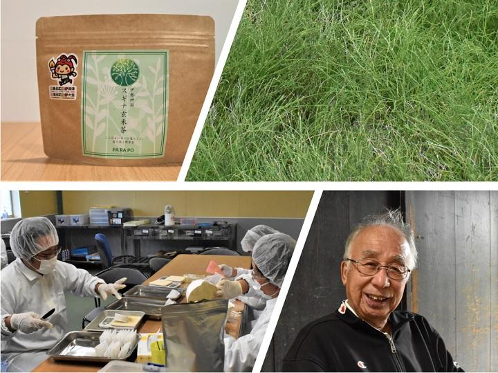 古くて新しいSDGs? 難防除雑草スギナを活用し、6次化と農福連携を実現