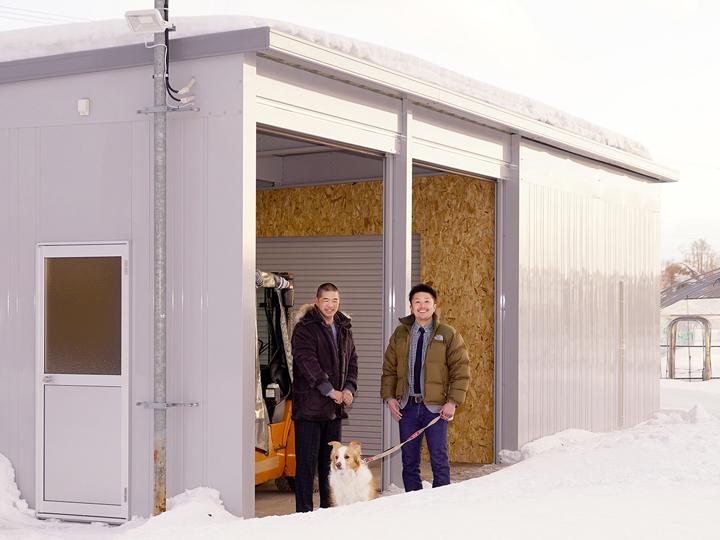 設備投資の節約に! イナバの農業用倉庫が北の大地でも大活躍