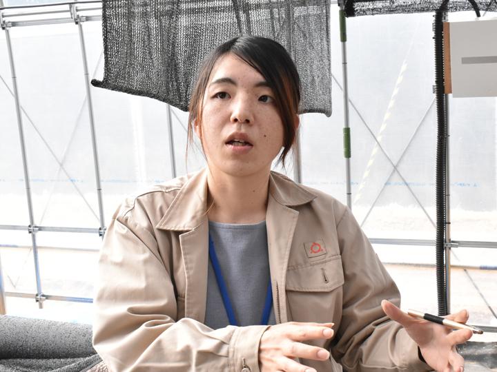 2018年秋頃からプロジェクトメンバーとして白岩さんを担当している加藤磨璃子さん