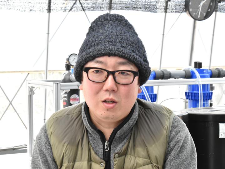 福島県田村市で『狼ノ神農園(おいのかみのうえん)』を経営する白岩洋さん