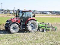 水田耕起の手間とコストが1/4に。農家が使って実感した『ラバータイプディスクハロー』の魅力とは?