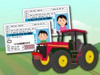 トラクターやコンバインの運転は農業大学校が近道? 農耕車限定の大特免許の取得方法
