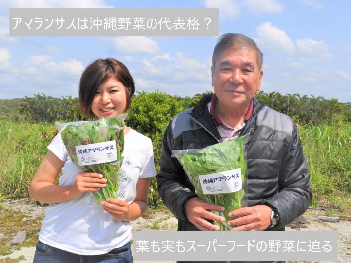アマランサスは沖縄野菜の代表格!? 葉も実もスーパーフードの野菜に迫る