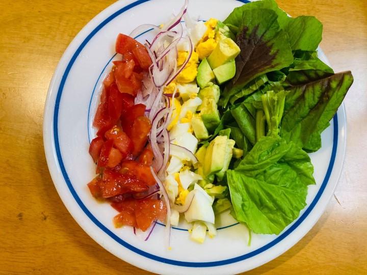 アマランサスの食べ方 サラダ