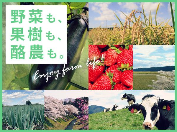 野菜も、果樹も、酪農も。‐栃木県那須塩原市‐