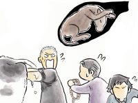 酪農漫画「うしだらけの日々」 第21話 牛の出産
