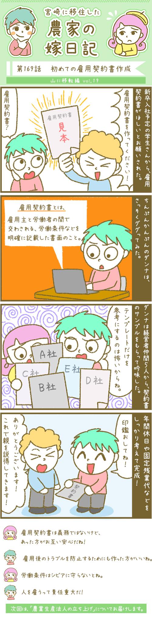 漫画第169話