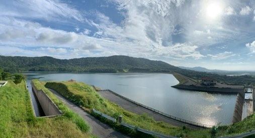 石垣島での稲作の現状  ダム