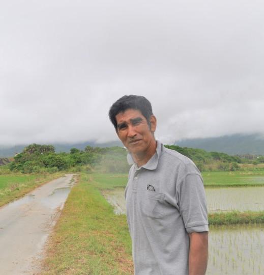 石垣島の米は6月に収穫下地さん  プロフィール写真