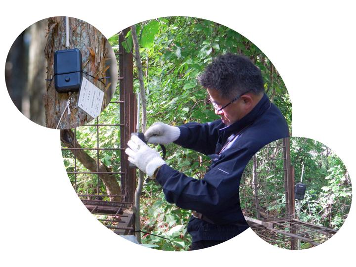 害獣による農作物の被害を未然に防ぐ! ZETA通信で捕獲情報をリアルタイムで受信