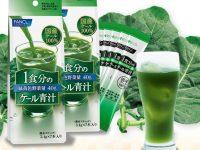 1杯で1食分の緑黄色野菜量40gが摂れるファンケル『1食分のケール青汁』
