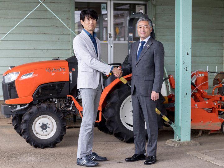 クボタが『農機シェアリングサービス』の提供をスタート!