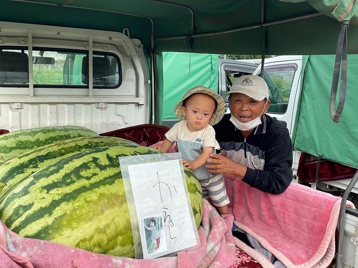 菊川さんと孫