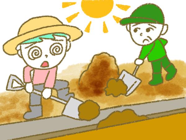 漫画「宮崎に移住した農家の嫁日記」【第184話】曰くつきの畑を蘇らせる