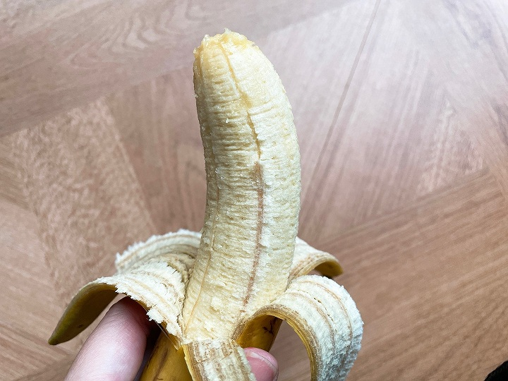 完熟したバナナ