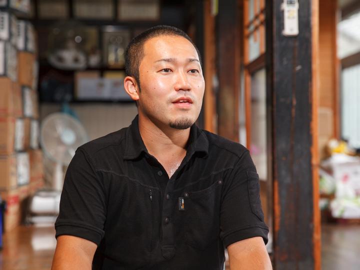 釜石男性農家