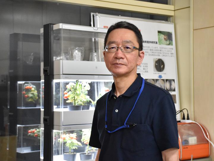 宮城大学食産業学群教授・中村茂雄さん