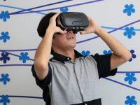しっかり怖い! 仮想現実(VR)で事故体感、農作業での死亡事故を防げ