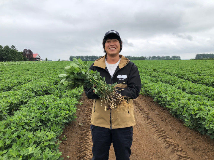 地域の気候に合っていない作物も軌道に乗せた 携帯ショップの元営業マン